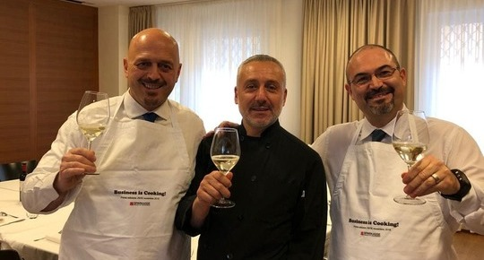 Business is cooking™ - CASSA DI RISPARMIO DI BOLZANO